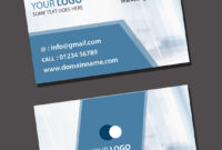 Visiting Card Psd Template Free Download for Visiting Card Templates Download