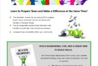 Volunteer Flyer Samples – Yupar.magdalene-Project for Volunteer Brochure Template