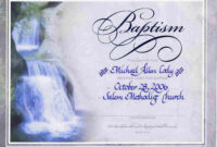 Water Baptism Certificate Templateencephaloscom intended for Roman Catholic Baptism Certificate Template