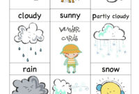 Weather Cards- Would Be Fun To Have A 'weather Man/girl intended for Kids Weather Report Template