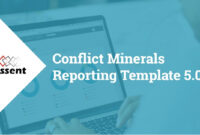 [Webinar] Conflict Minerals Reporting Template 5.0 for Conflict Minerals Reporting Template
