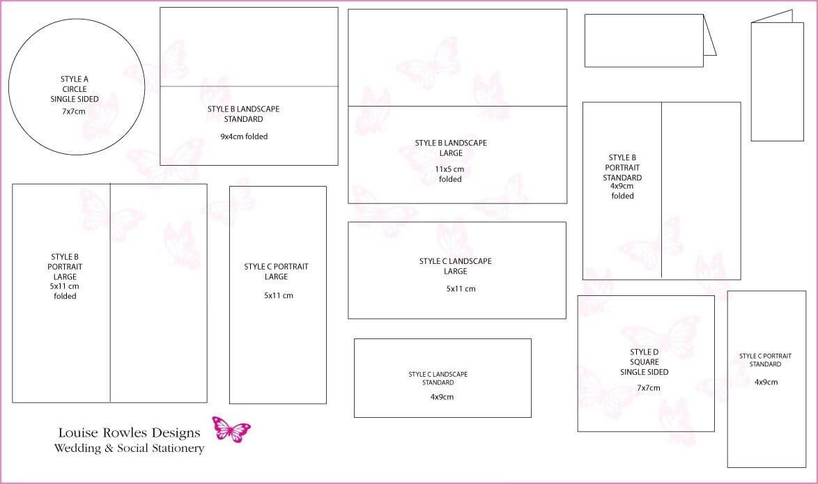 Wedding Card Template Size | Theveliger Throughout Wedding Card Size Template