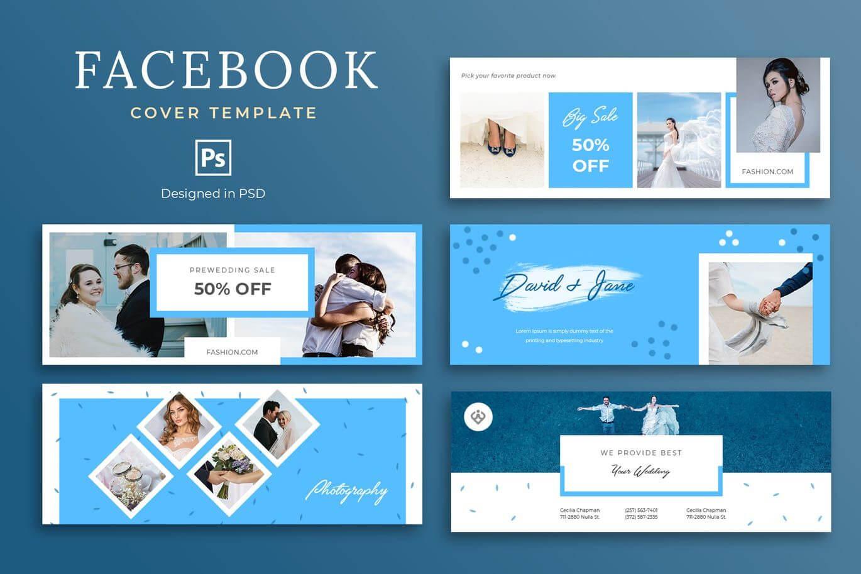 Wedding Facebook Cover Template Psd - 5 Social Media Banner for Facebook Banner Template Psd