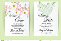 Wedding Invitation Card Flowers,jasmine Stock Illustration for Wedding Card Size Template