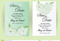 Wedding Invitation Card Flowers,jasmine Stock Vector with Wedding Card Size Template