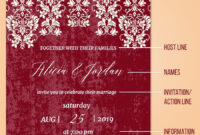 Wedding Invitation Letter Designs Card Design Template inside Church Invite Cards Template