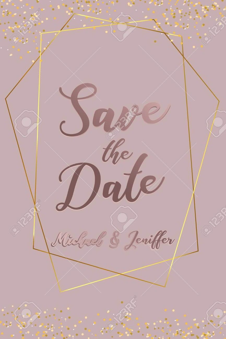 Wedding Invitation, Thank You Card, Save The Date Card. Wedding.. Regarding Save The Date Banner Template