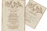 Wedding Invitation Wording: Indian Wedding Invitation throughout Sample Wedding Invitation Cards Templates