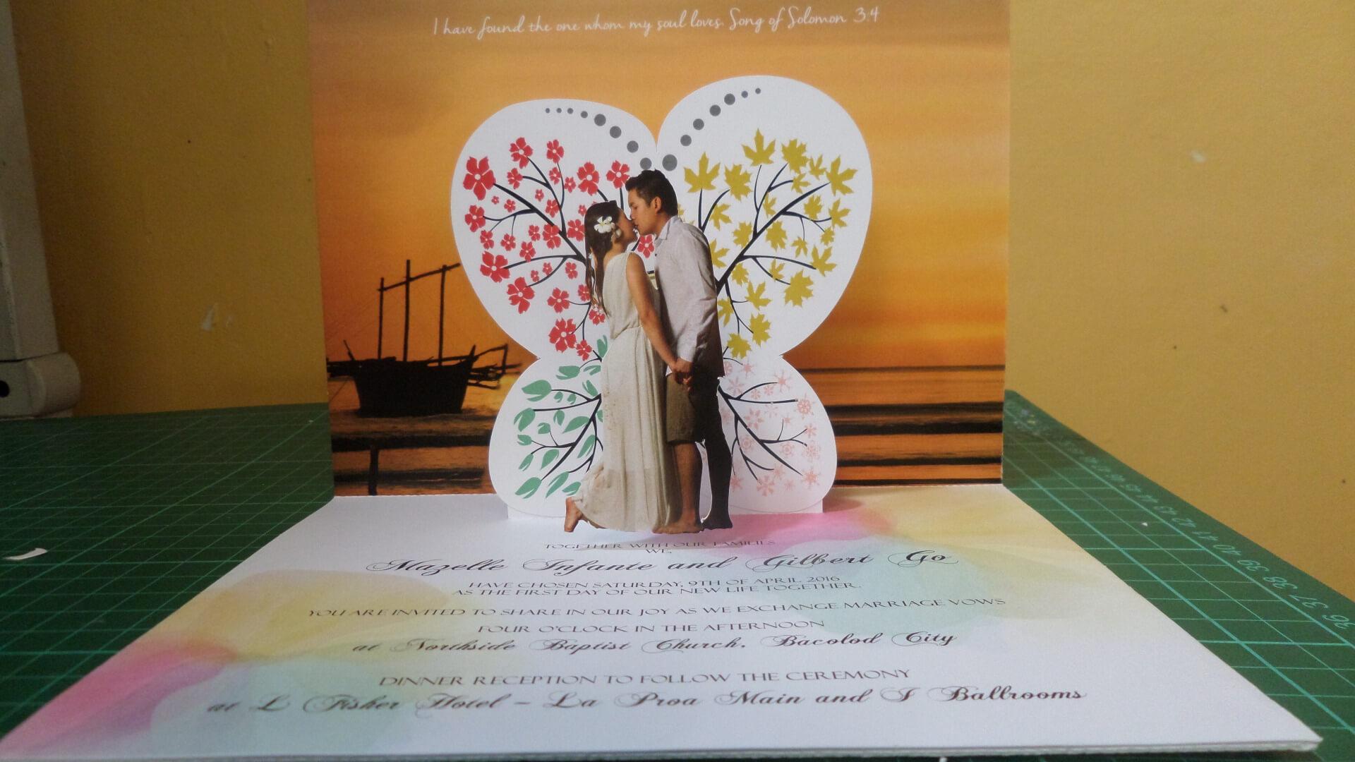 Wedding Pop Up Invitations | Pop Up Occasions regarding Pop Up Wedding Card Template Free