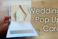 Wedding Themed Popup Card: 7 Steps (With Pictures) pertaining to Diy Pop Up Cards Templates