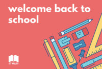 Welcome Back To School Education Banner Ad Template with regard to Welcome Banner Template