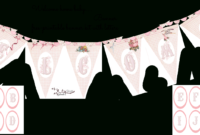 Welcome Home Baby-Girl Banner   Do It Yourself Today regarding Christening Banner Template Free
