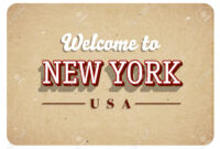 Welcome New York Banner Template Design within Welcome Banner Template
