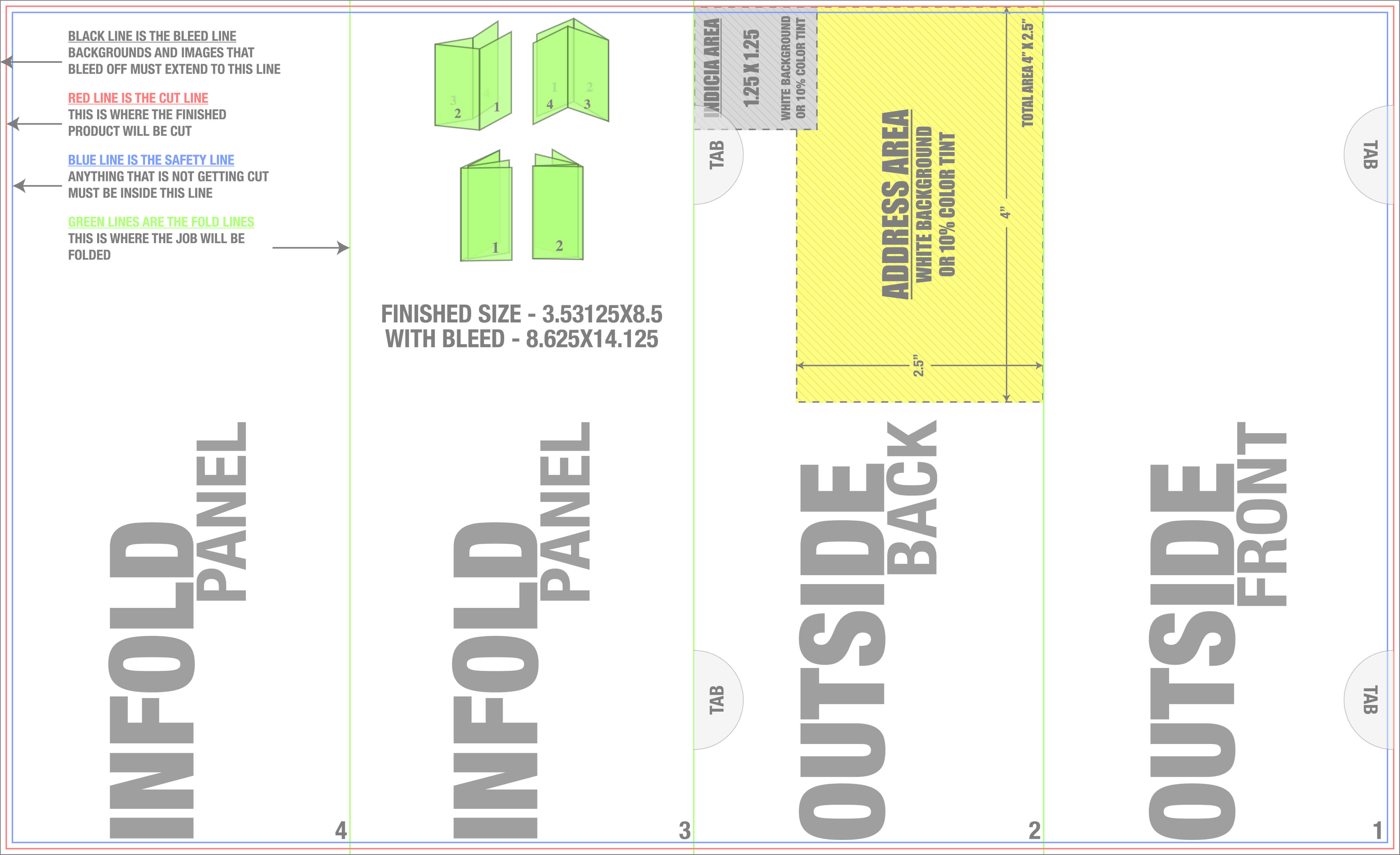Welcome To Trade.4Over with Gate Fold Brochure Template