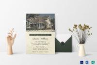 Welcoming Housewarming Invitation Card Template With Regard To Free Housewarming Invitation Card Template