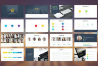 Well Designed Powerpoint Template within Where Are Powerpoint Templates Stored