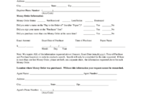 Western Union Form – Fill Online, Printable, Fillable, Blank pertaining to Blank Money Order Template