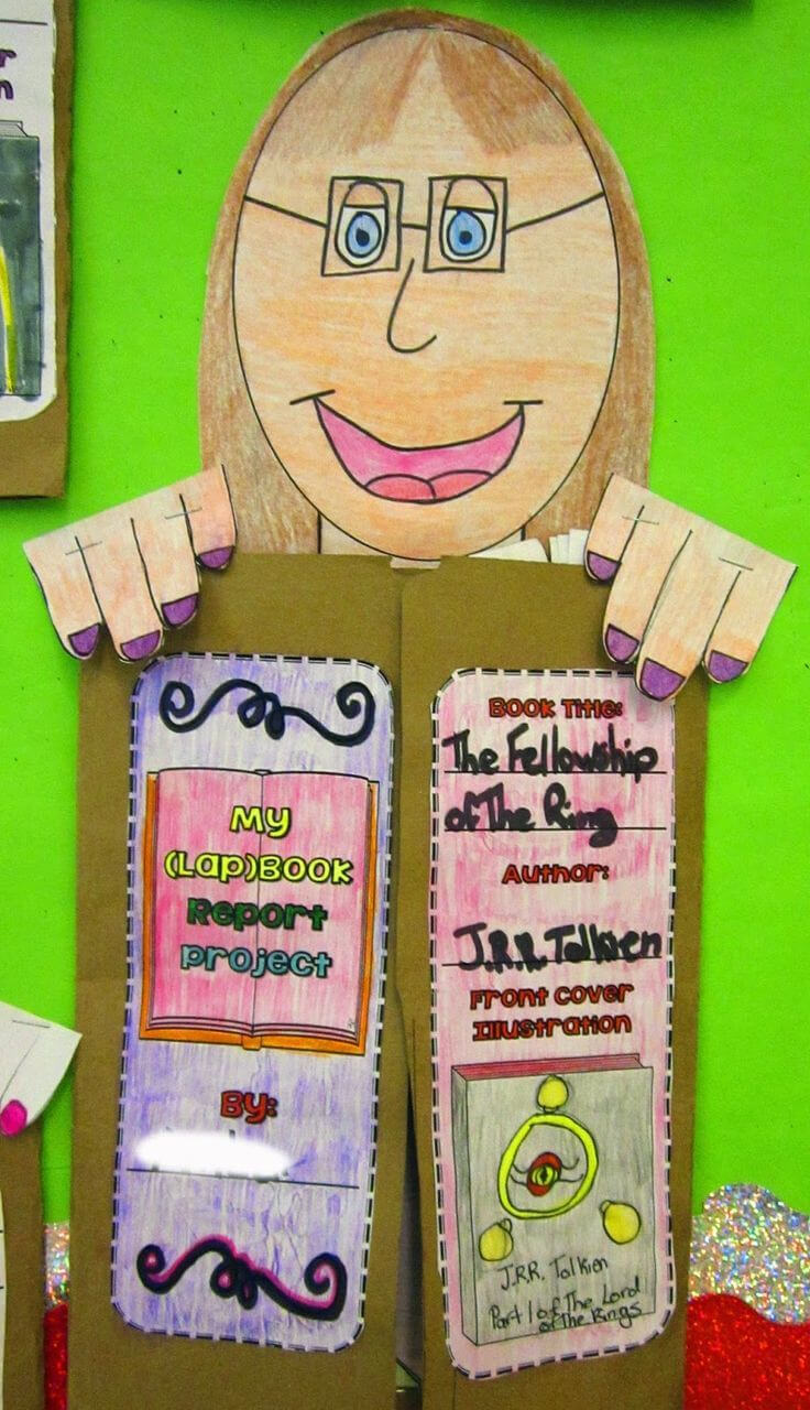 We've Got Our Heads Stuck In A Good Book | Book Projects for Skeleton Book Report Template