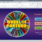 Wheel Of Fortune For Powerpoint - Gamestim in Wheel Of Fortune Powerpoint Game Show Templates