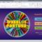 Wheel Of Fortune For Powerpoint – Gamestim In Wheel Of Fortune Powerpoint Template