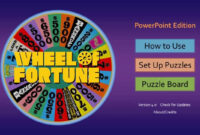 Wheel Of Fortune For Powerpoint – Gamestim inside Wheel Of Fortune Powerpoint Game Show Templates