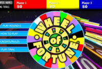 Wheel Of Fortune Powerpoint Game Games For Teachers Show pertaining to Wheel Of Fortune Powerpoint Game Show Templates
