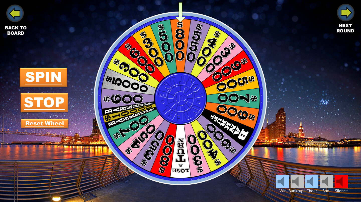 Wheel Of Fortune Powerpoint Game - Youth Downloadsyouth Throughout Wheel Of Fortune Powerpoint Template