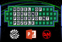 Wheel Of Fortune – Powerpoint Puzzle inside Wheel Of Fortune Powerpoint Template