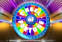 Wheel Of Fortune Powerpoint Version 2016 (Updated) inside Wheel Of Fortune Powerpoint Template
