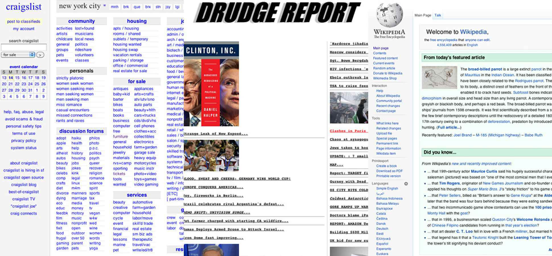 When It Pays To Have An Ugly Website | Inc for Drudge Report Template