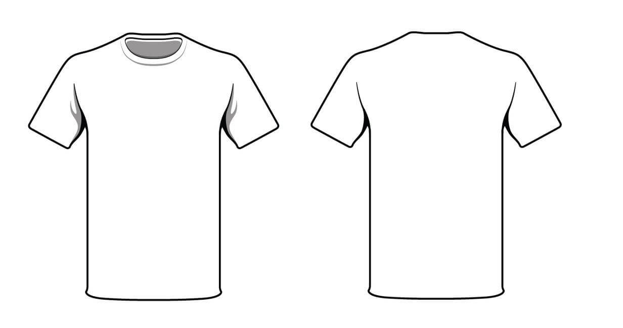 White T Shirtalymunibari.deviantart On @deviantart Intended For Blank T Shirt Outline Template