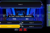Who Wants To Be A Millionaire? | Rusnak Creative Free in Who Wants To Be A Millionaire Powerpoint Template