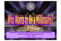 Who Wants To Be Millionaire- Powerpoint Game Template in Who Wants To Be A Millionaire Powerpoint Template