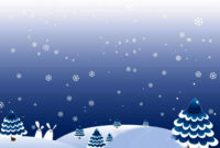 Winter Christmas Day Backgrounds For Powerpoint – Christmas regarding Snow Powerpoint Template