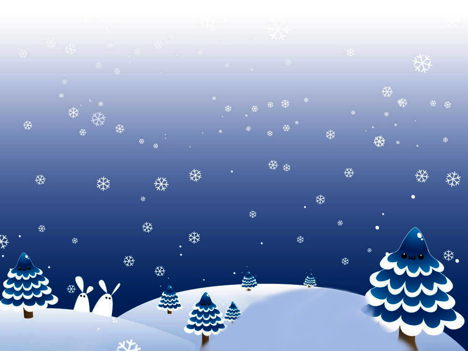 Winter Christmas Day Backgrounds For Powerpoint - Christmas regarding Snow Powerpoint Template