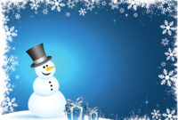 Winter Polar Powerpoint Templates – Aqua / Cyan, Black, Blue throughout Snow Powerpoint Template