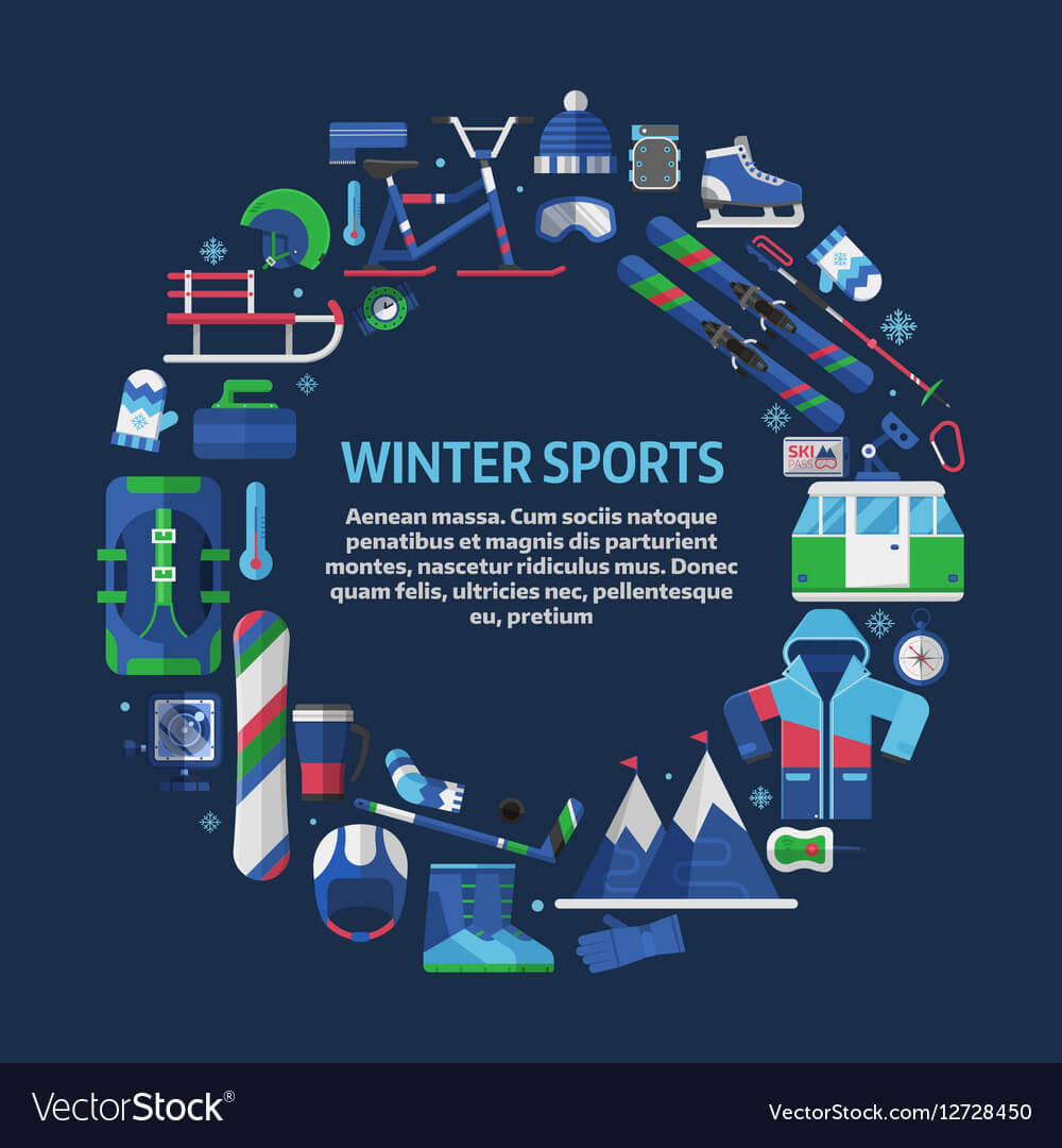 Winter Sports Card Template within Free Sports Card Template