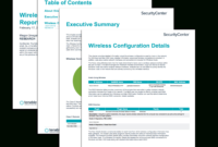 Wireless Configuration Report – Sc Report Template   Tenable® with regard to Technical Support Report Template
