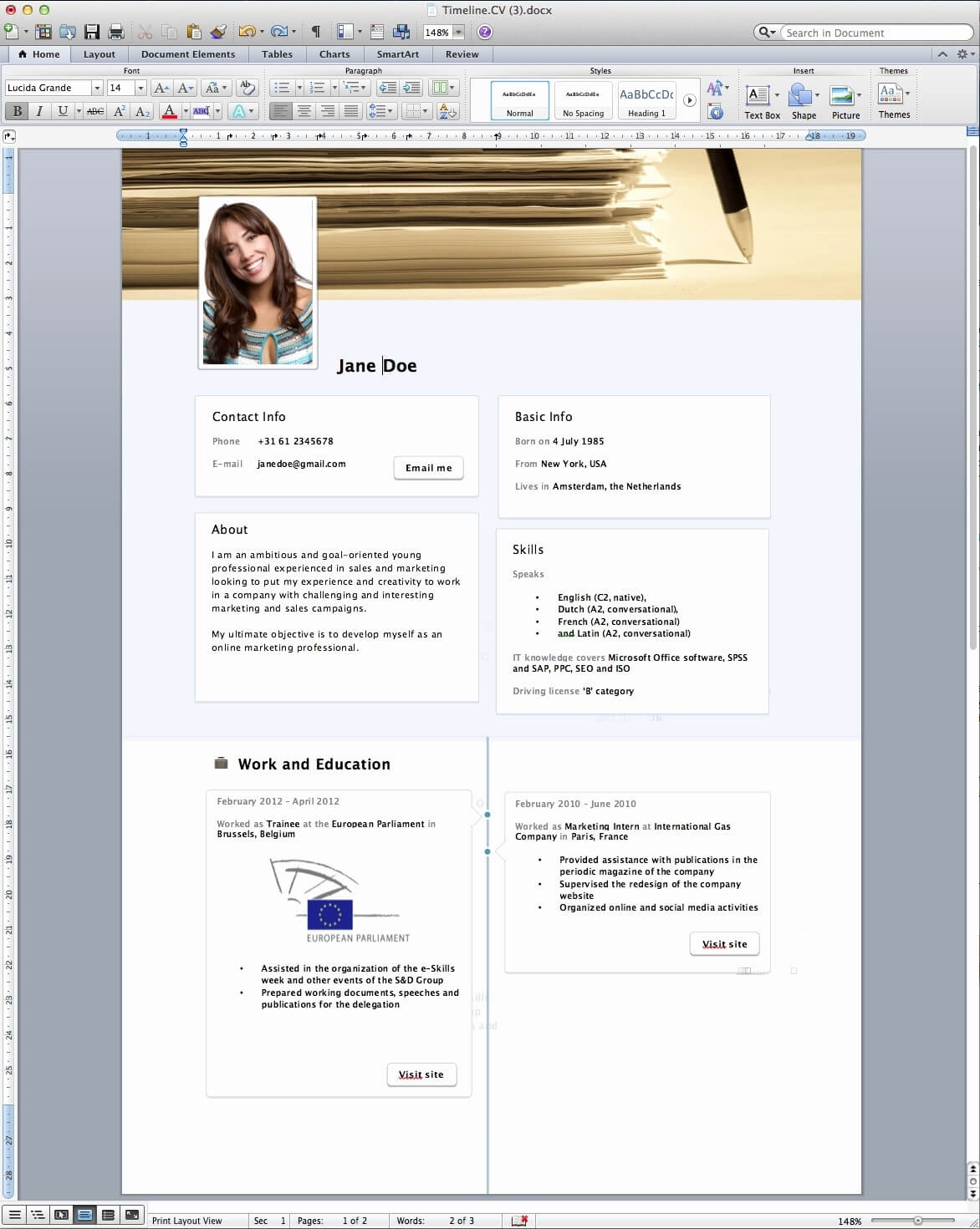 Word 2013 Resume Templates Tjfs Journal – Resume Samples With Resume Templates Word 2013