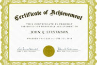 Word Award Template Printable Rental Agreement Lease inside Free Certificate Of Excellence Template