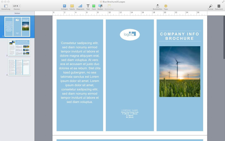 Word Brochure Template Mac Ukran Agdiffusion Com Microsoft intended for Mac Brochure Templates