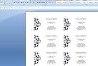 Word Business Card Templates Custom Design Cards Template In throughout Word 2013 Business Card Template
