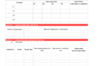 Work Plan [ Templates | Samples | Examples] – Word & Excel for Work Plan Template Word