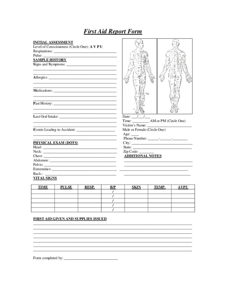 Workplace Patient Report Forms Pack St John Ambulance At inside Patient Report Form Template Download