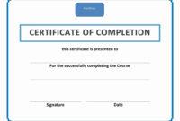 Workshop Certificate Template – Atlantaauctionco pertaining to Workshop Certificate Template
