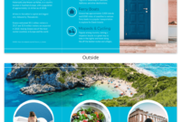 World Travel Tri Fold Brochure Template – Venngage throughout Country Brochure Template