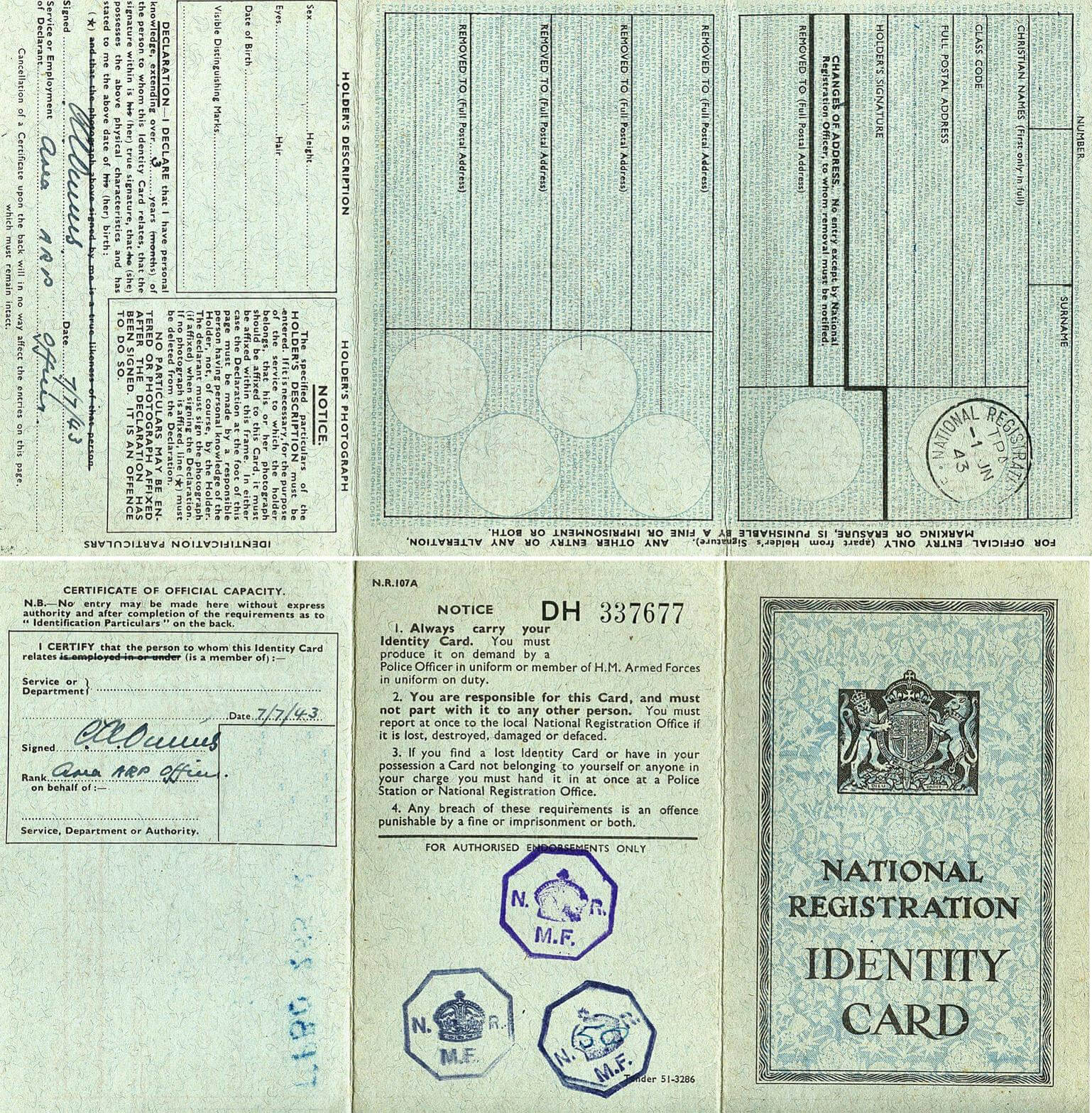 World War 2 Identity Card Template - 28 Images - Ii World In Regarding World War 2 Identity Card Template