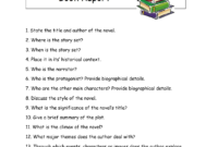 Writing A High School Book Report – How To Write A Book in Book Report Template High School
