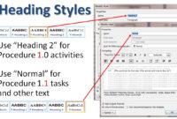 Writing Standard Operating Procedures (Writing Sop)   Bizmanualz for Free Standard Operating Procedure Template Word 2010