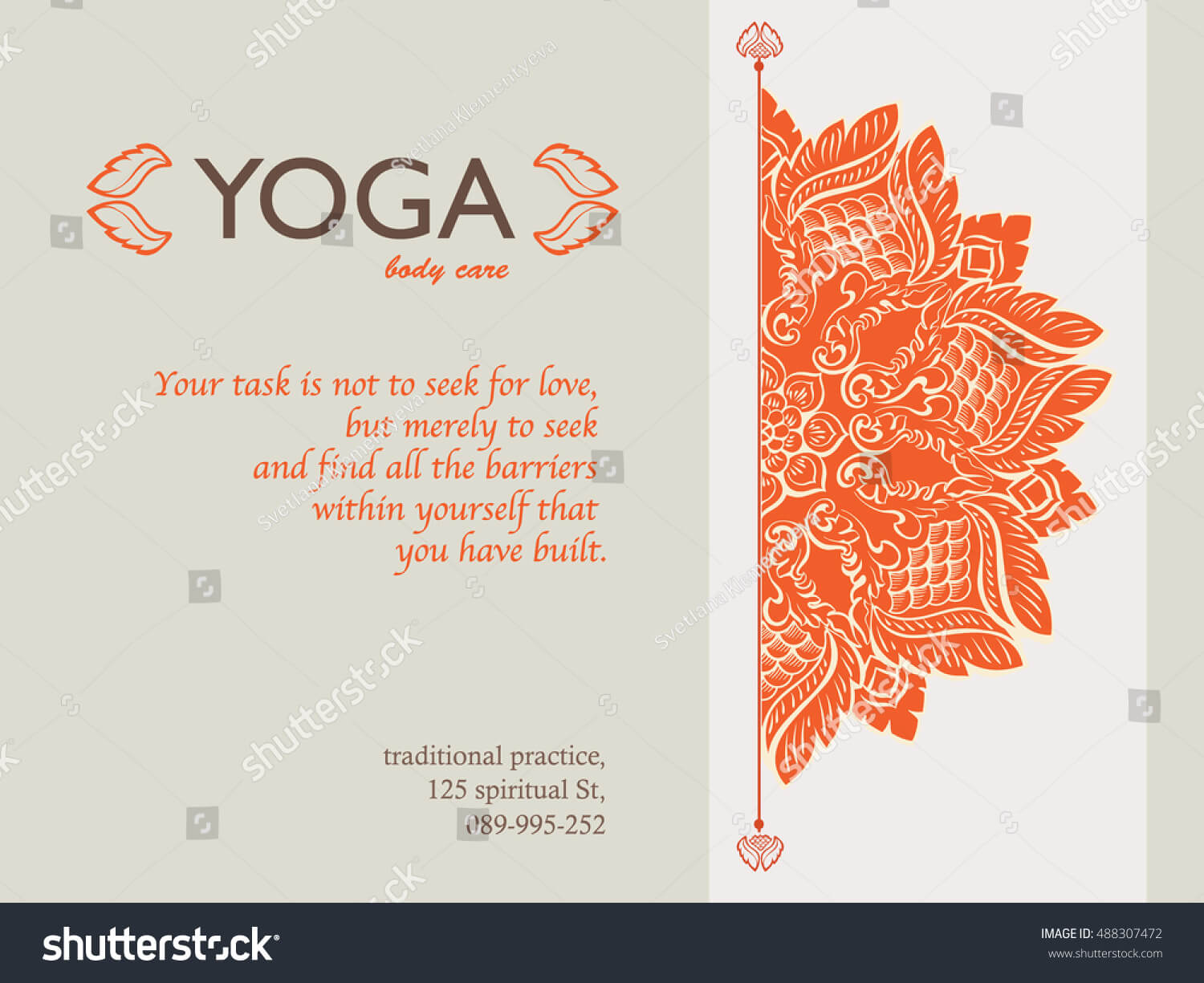 Yoga Gift Certificate Templates | Gift Certificate Templates Within Yoga Gift Certificate Template Free